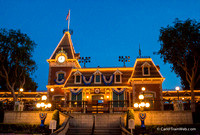 The station is located high above main street - perfect for night shots.