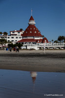 Del Coronado Hotel, across the bridge from San Diego.