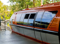 I took the Monorail from Downtown Disney...more walking from the parking structure, but it drops you in Tomorrowland.