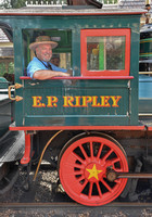 Engine No. 2 - E.P. Ripley  The E.P. Ripley was modeled after Walt Disney's own Lilly Belle, a one-eighth scale locomotive kept in his backyard as part of his personal Carolwood Pacific Railroad.