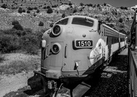 """Good to show the tops of the mountains - many people cut them off."" Verde Canyon Railroad, Cottonwood, AZ  7 pts."