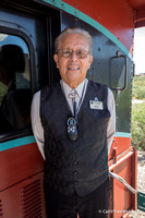 Fermin is the long-standing host in the caboose.