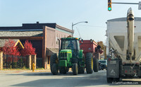 Rockville, Indiana, or any small town in October will find corn and soybean carrying vehicles dominating the traffic.