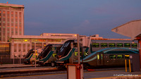 Metrolink cab cars at Los Angeles Union Station 1/19/15