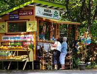 Huelo Lookout Fruit stand