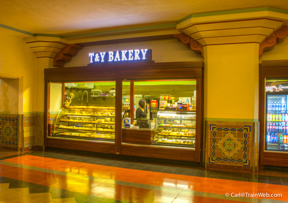 New bakery in the station