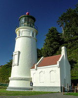 Heceta Head Lighthouse, Oil House, and Yours Truly